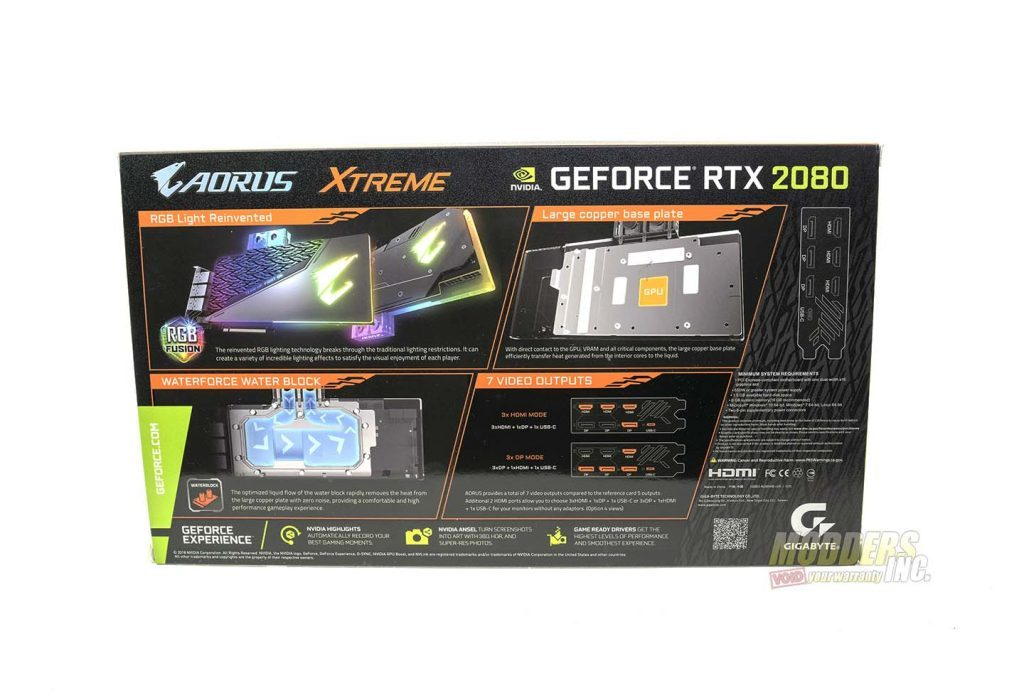 AORUS extreme RTX 2080 box