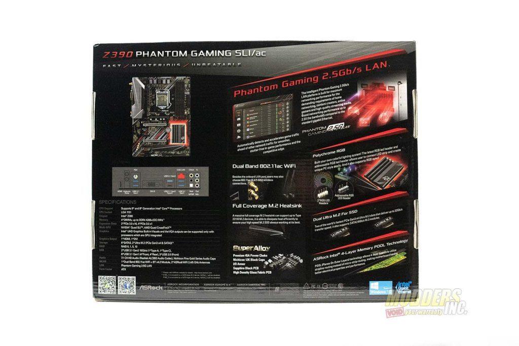ASRock Z390 Phantom Gaming SLI/ac Review 9th generation Intel motherboards, ASRock, ASRock Phantom Gaming SLI/ac, Modders-Inc motherboard reviews, Phantom Gaming, Z390 Chipset, Z390 Phantom Gaming 2