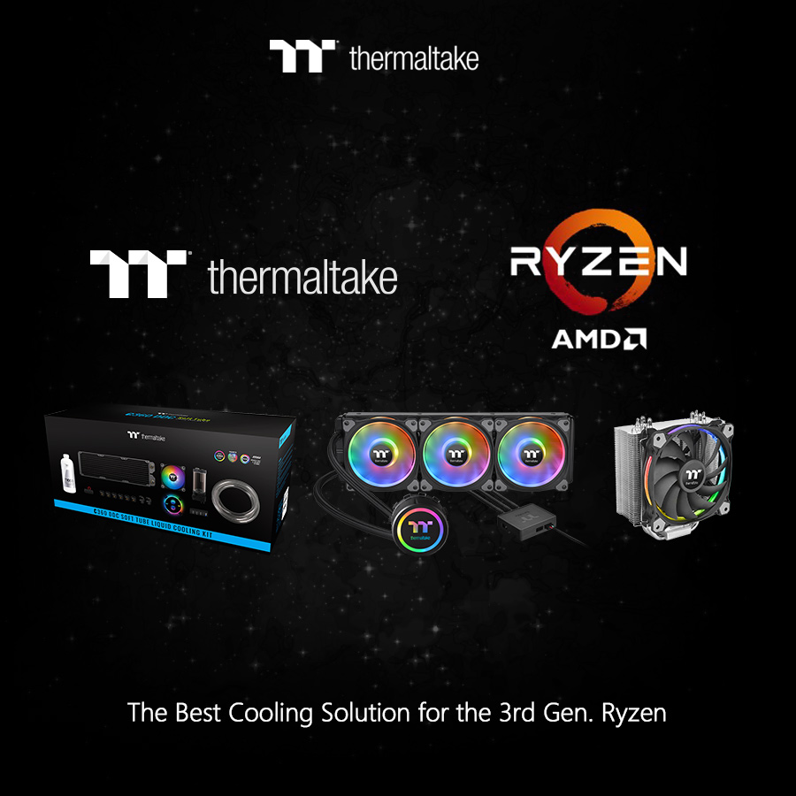 Thermaltake Cooling Solutions Back the Latest Powerful Processors Thermaltake Cooling Solutions Back the Latest Powerful Processors 2