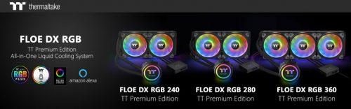 Thermaltake Floe DX RGB Series TT Premium Edition Thermaltake Floe DX RGB Series TT Premium Edition 1