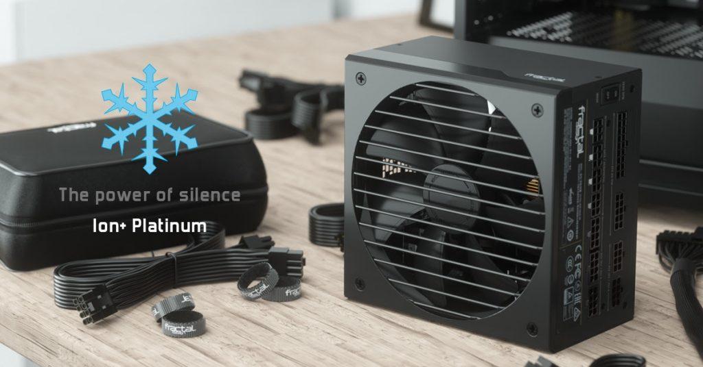 Fractal Design Ion+ Platinum Power Supply Fractal, modular, power supply, quiet 3
