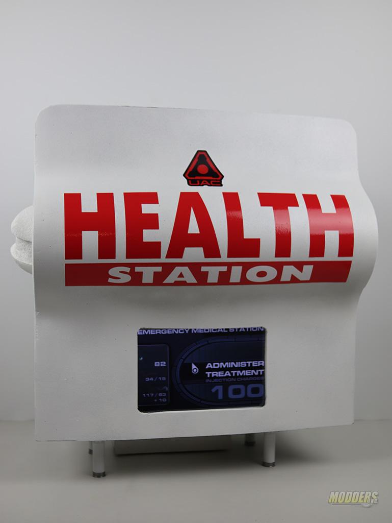 Doom 3 Case Mod Health Station Project IMG 1972
