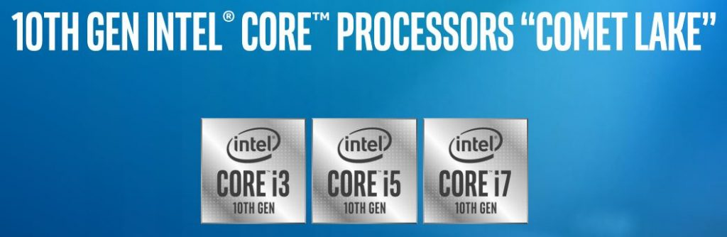 Intel Comet Lake U and Y Series Mobile Processors Launched