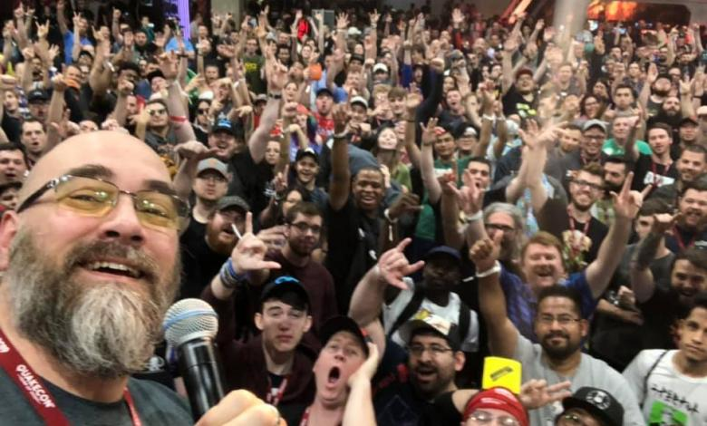 Photo of Modders Inc Raffle Winners at QuakeCon 2019