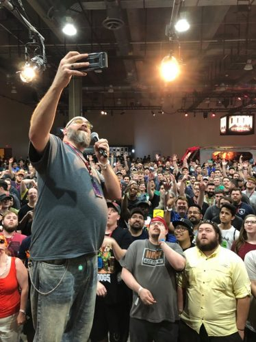 Modders Inc Raffle Winners at QuakeCon 2019 QuakeCon Modders Inc Selfie 2