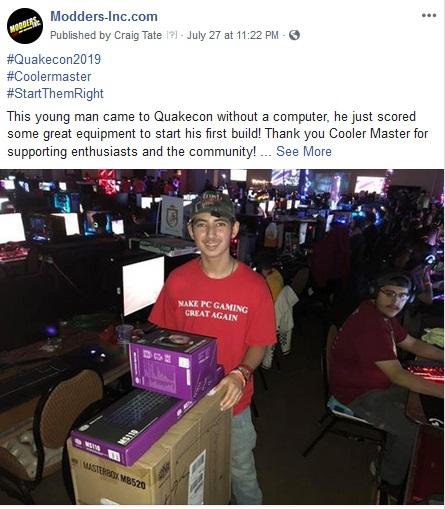 QuakeCon 2019: DOOM and Case Mods RAOC 3