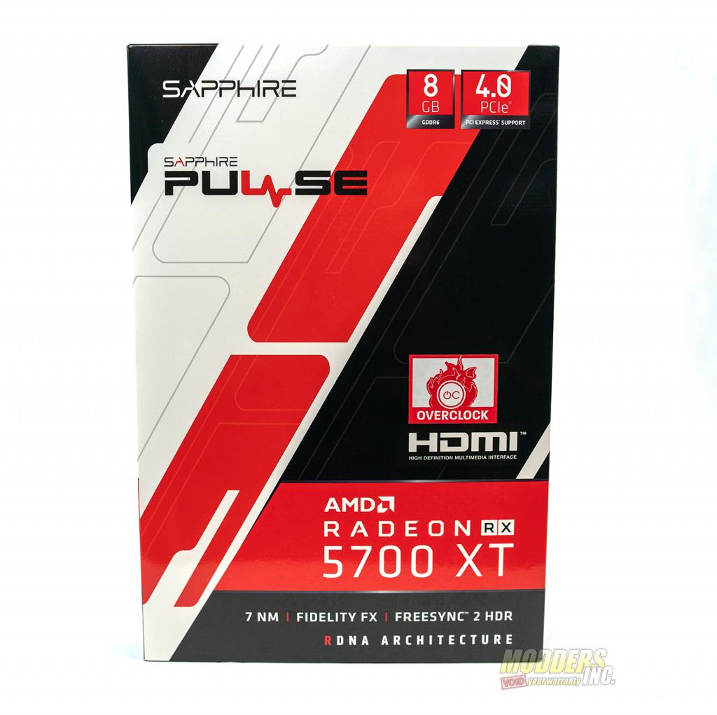 sapphire pulse 5700 xt box