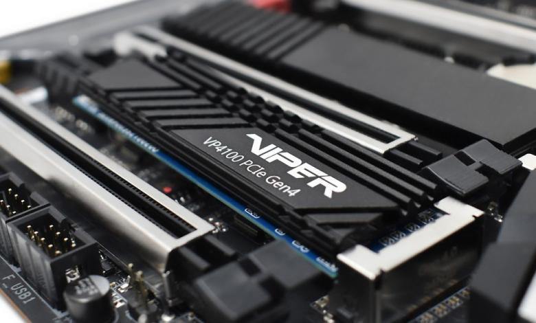 Photo of VIPER GAMING launches VIPER VP4100 M.2 2280 PCIe Gen4 x 4 SSD