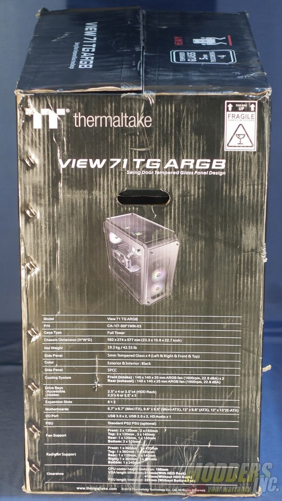 Thermaltake View 71 thermaltake view 71 argb 104