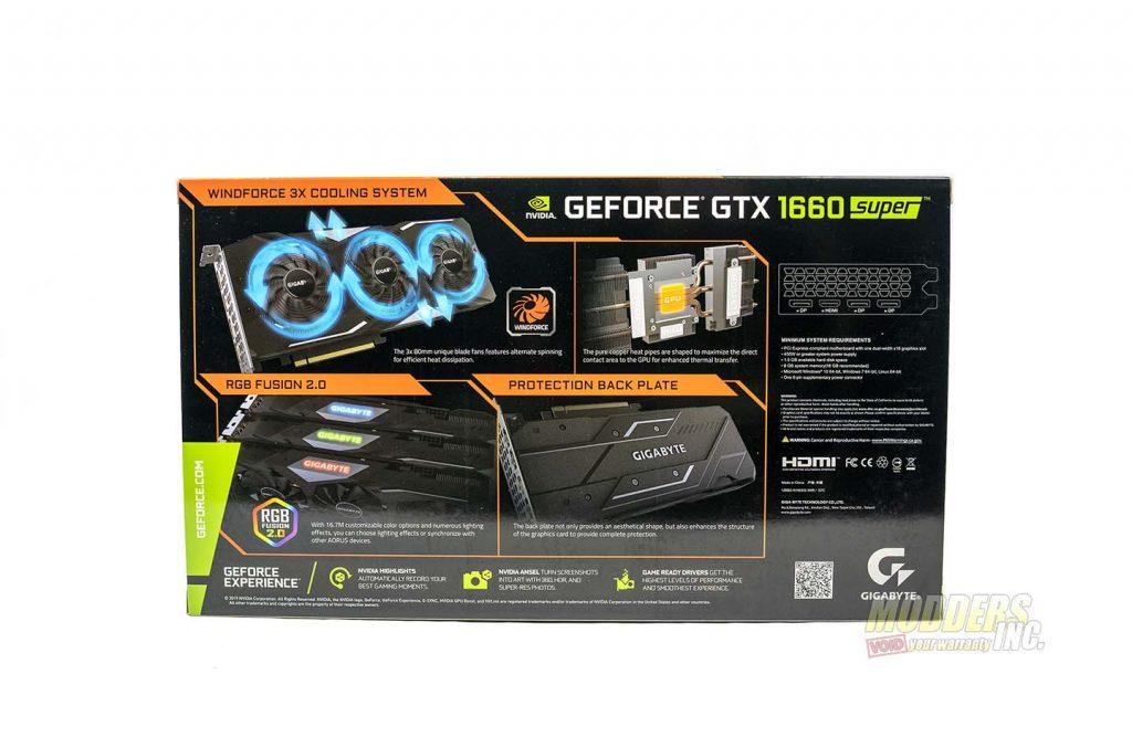 Gigabyte 1660 Super box back