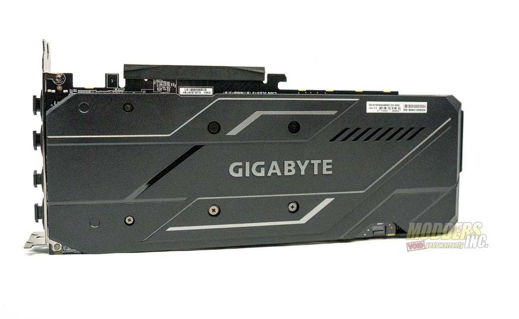 Gigabyte 1660 Super back plate