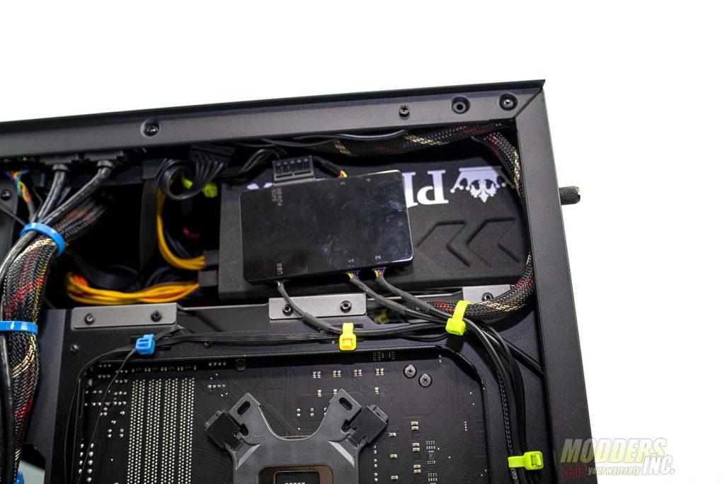 Antec P120 Crystal rgb controller 1