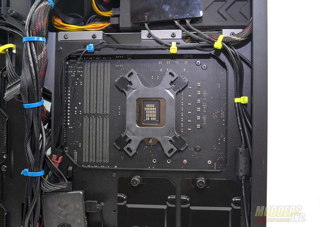 Antec P120 Crystal backplate