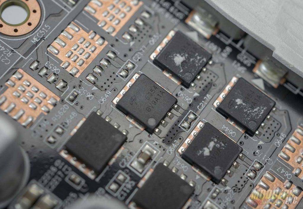 Gigabyte 1660 Super MOSFET