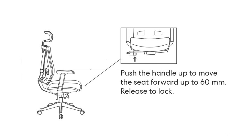 Autonomous ErgoChair 2 Black Edition Autonomous, chair, ergonomic 10