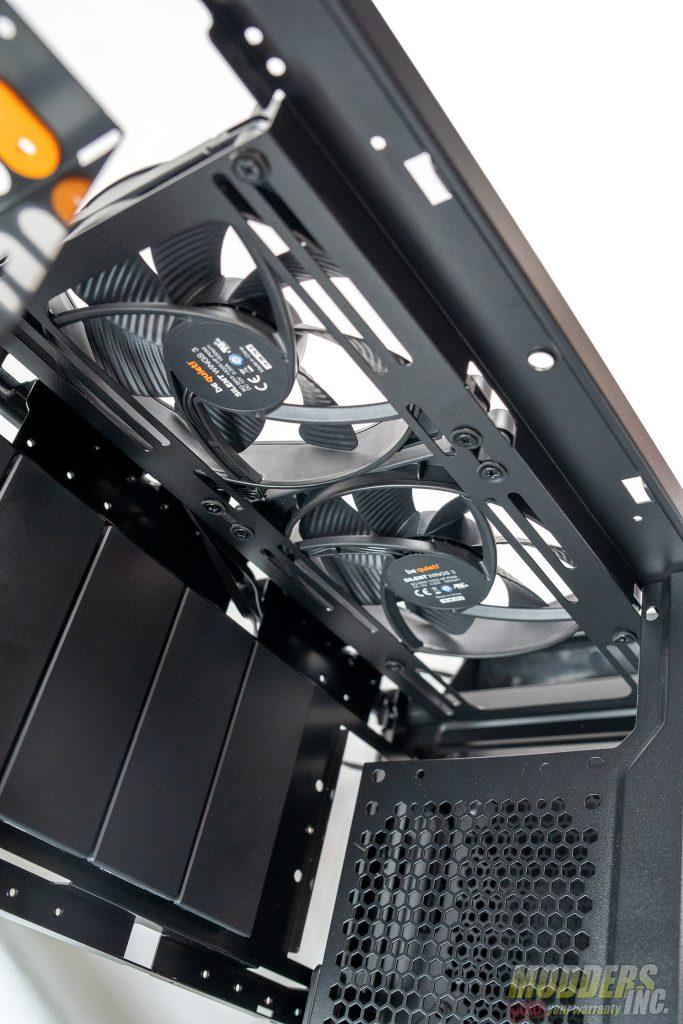 Dark Base Pro 900 front fans