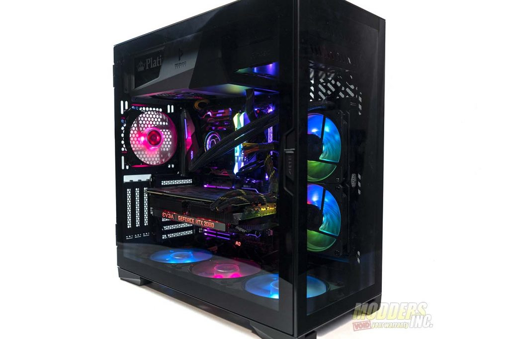 Antec P120 Crystal completed build