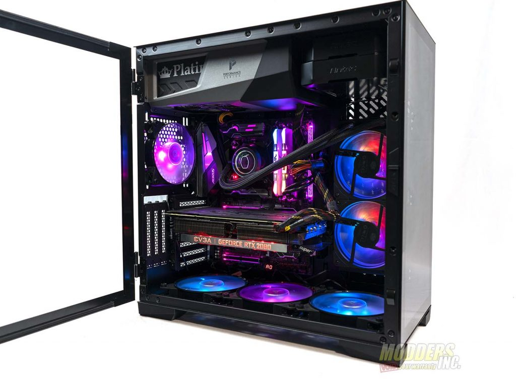 Antec P120 Crystal finished