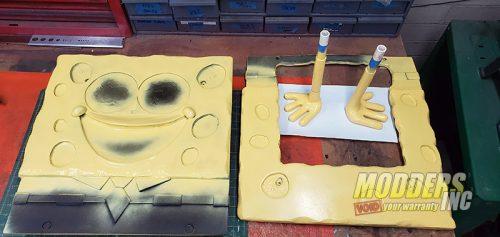 SpongeBob PC Case Mod Case Mod, Custom Case Mod, EVGA, spongebob 3