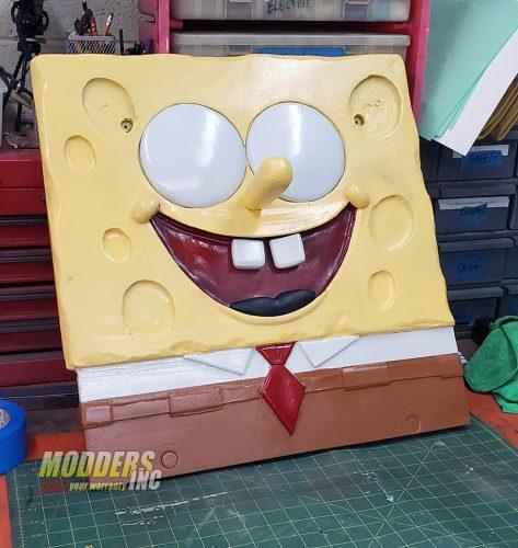 SpongeBob PC Case Mod Case Mod, Custom Case Mod, EVGA, spongebob 4
