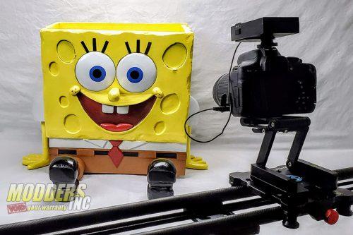 SpongeBob PC Case Mod Case Mod, Custom Case Mod, EVGA, spongebob 6