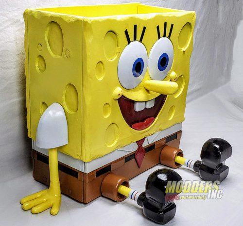 SpongeBob PC Case Mod Case Mod, Custom Case Mod, EVGA, spongebob 7