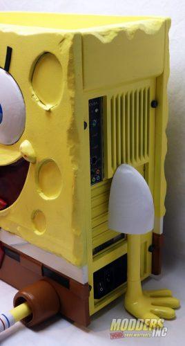 SpongeBob PC Case Mod Case Mod, Custom Case Mod, EVGA, spongebob 8