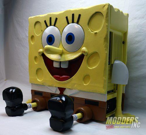 SpongeBob PC Case Mod Case Mod, Custom Case Mod, EVGA, spongebob 10