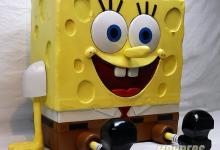SpongeBob PC Case Mod Case Mod, Custom Case Mod, EVGA, spongebob