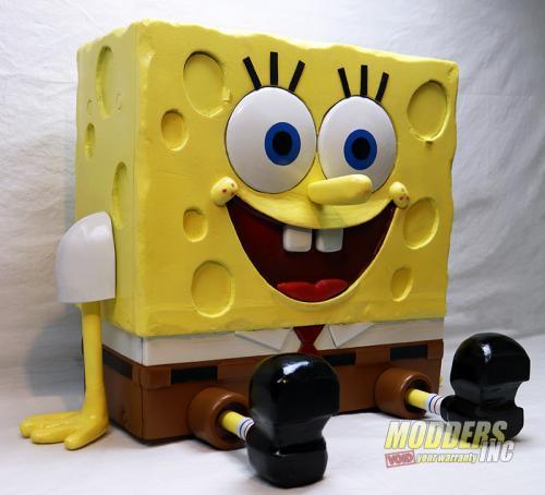 SpongeBob PC Case Mod Case Mod, Custom Case Mod, EVGA, spongebob 9