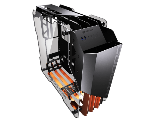 Cougar Blazer Review aluminum, ATX, Case, Cougar, Gaming, tempered glass 1