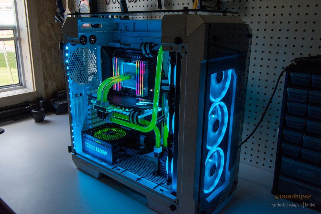 Aorus TRX40 Xtreme CES 2020 Case Mod Build