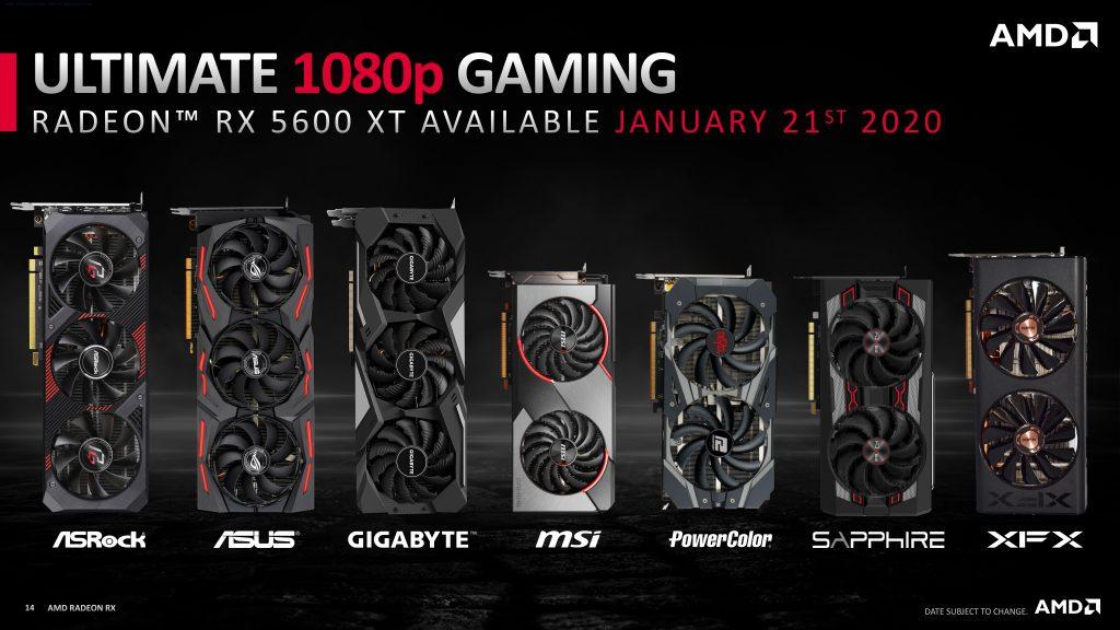 XFX Radeon RX 5600 XT THICC II Pro Boost AMD, Gaming, Graphic Card, Navi, Radeon, rx 5600, Video Card, XFX 5