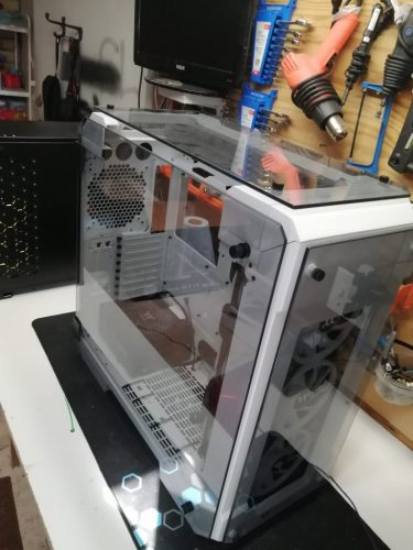 Aorus TRX40 Xtreme CES 2020 Case Mod Build IMG 20191015 115914