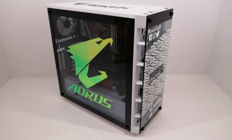 Photo of Aorus Z390 Waterforce CES 2020 Build