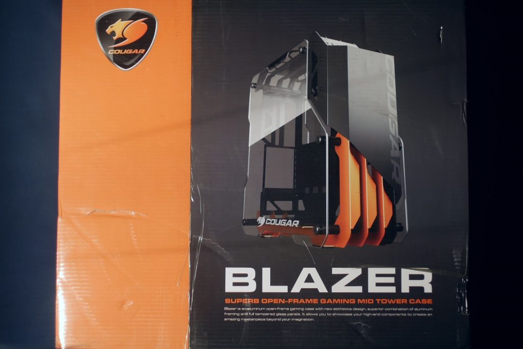 Cougar Blazer Review aluminum, ATX, Case, Cougar, Gaming, tempered glass 2