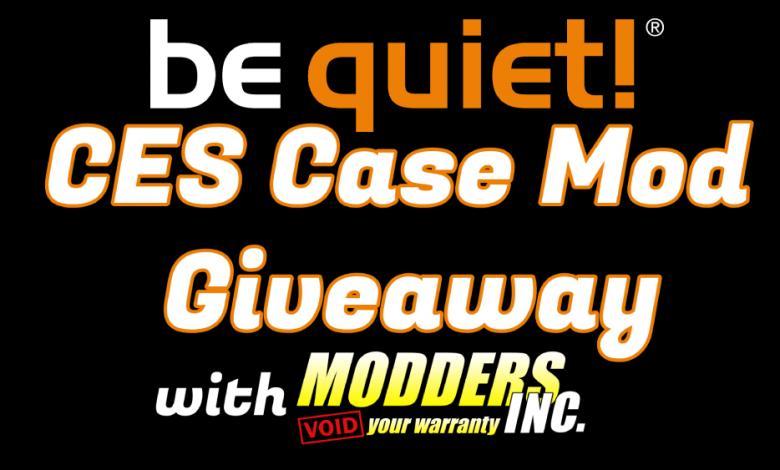 Photo of be quiet! CES 2020 Case Mod Giveaway