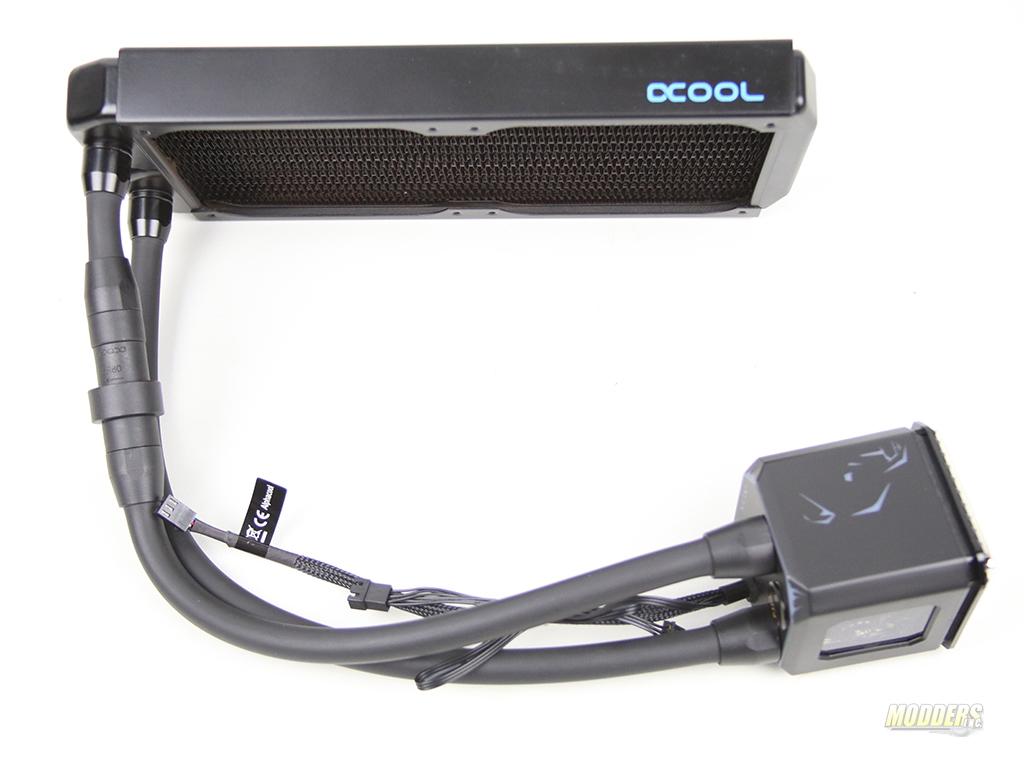 Alphacool Eisbaer Aurora 240 RGB CPU AIO Loop IMG 3013