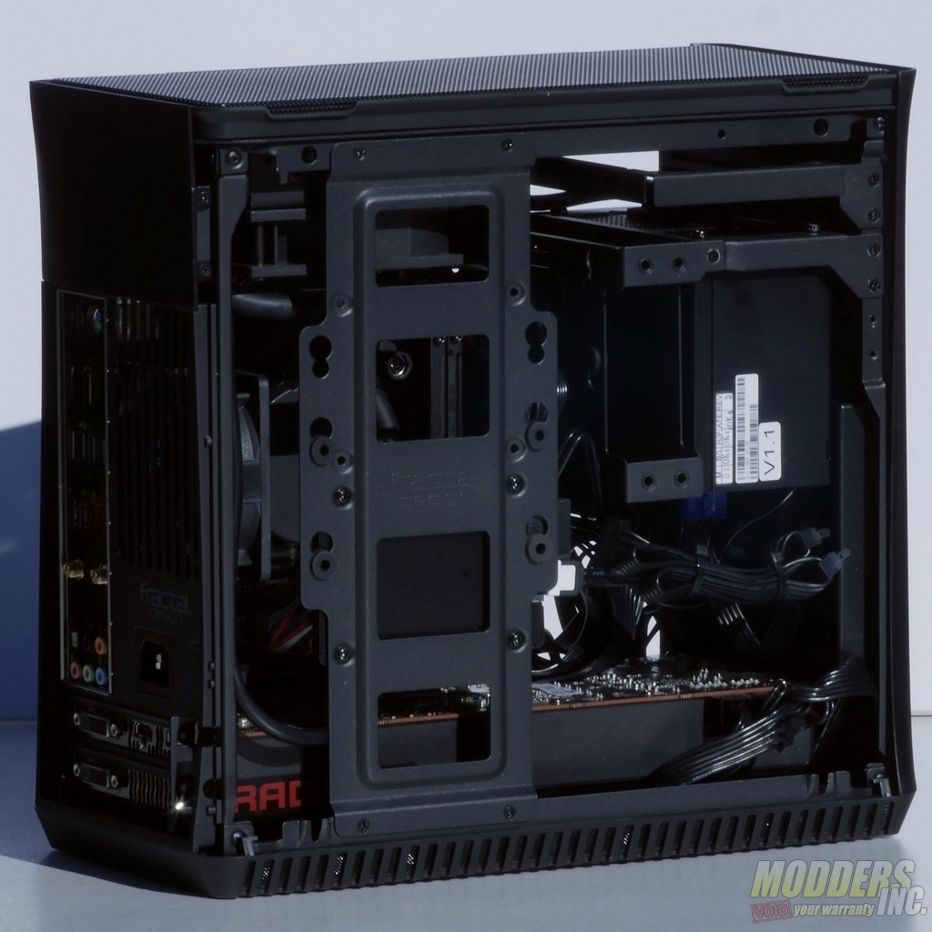 Fractal Design Era ITX AIO, fractal design, itx, pc case, Water Cooling, Wood panel 6