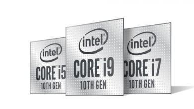 intel 10th gen mobile processors i7