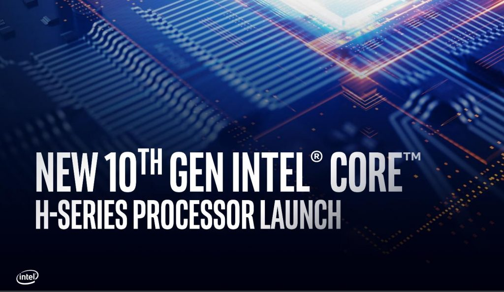 intel 10th gen mobile LAUNCH