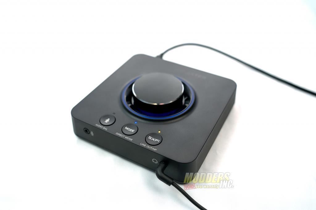 Sound Blaster X3 top