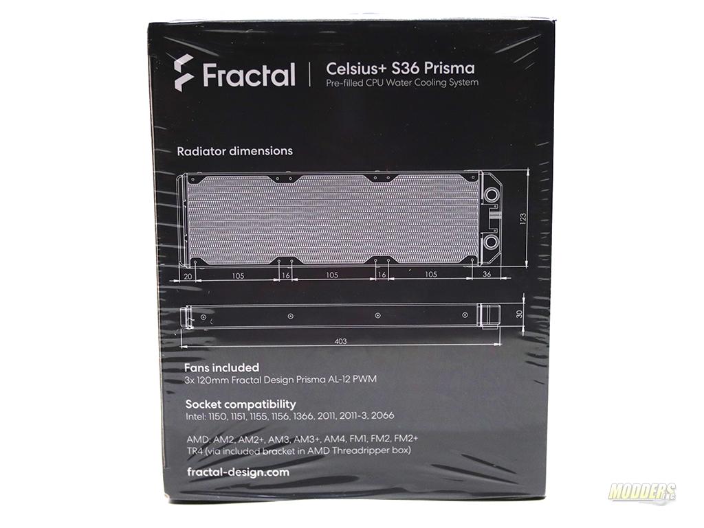 Fractal Design Celsius+ S36 Prisma AIO AIO, all in one, All In One CPU Cooler, ARGB, Celsius+ S36 Prisma AIO, Fractal, fractal design 5