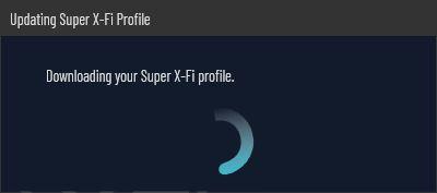 Sound Blaster X3 Super X-FI profile