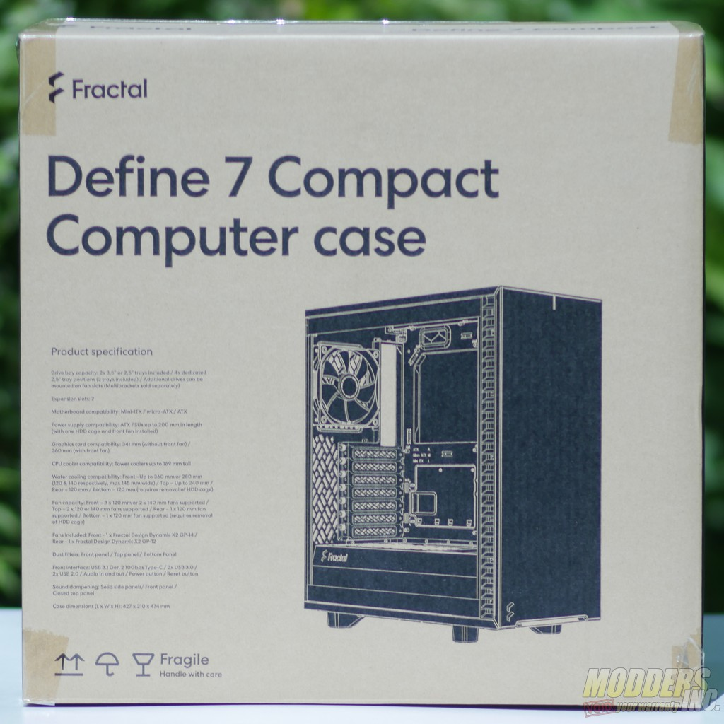 Fractal-Design-Define-7-Compact box
