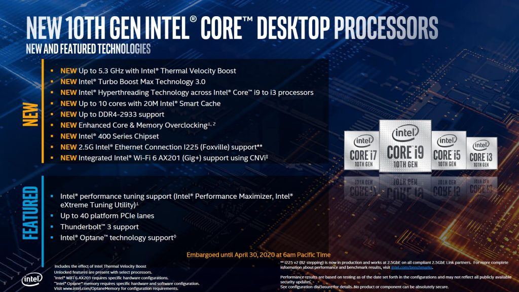 Intel Core i5-10600K CPU Review deck7