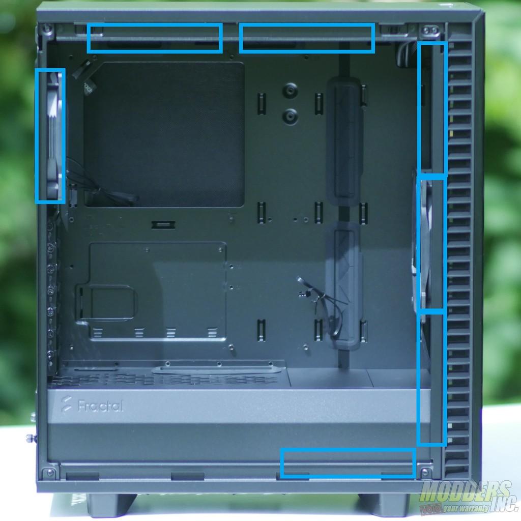 Fractal Design Define 7 Compact ATX, Case, Fractal, mATX, Mid Tower, pc case 27