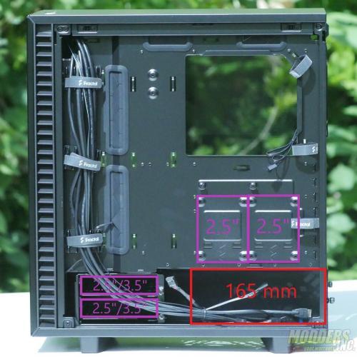Fractal Design Define 7 Compact ATX, Case, Fractal, mATX, Mid Tower, pc case 29