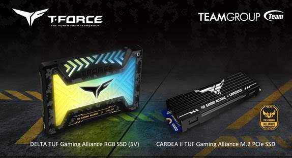 TEAMGROUP partners with ASUS TUF Gaming Alliance TeamGroup SSD and Memory 1