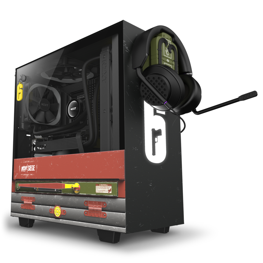 NZXT Launches Rainbow 6 Siege Themed Limited Edition Case NZXT 6